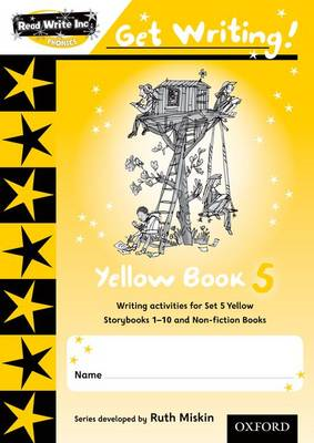 Read Write Inc. Phonics: Get Writing!: Yellow Book 5 (BOK)