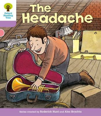 Oxford Reading Tree: Level 1+: Patterned Stories: Headache (BOK)