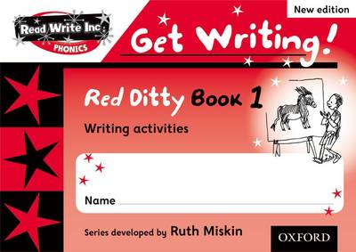 Read Write Inc. Phonics: Get Writing!: Red Ditty Books 1-5 P (BOK)