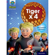 Project X: Alien Adventures: Purple: Tiger x 4 (BOK)