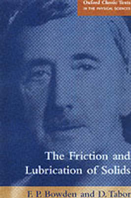 The Friction and Lubrication of Solids (BOK)