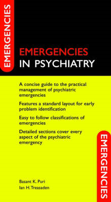 Emergencies in Psychiatry (BOK)