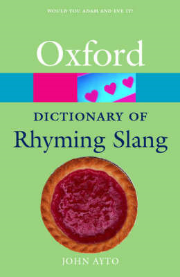 Oxford Dictionary of Rhyming Slang (BOK)