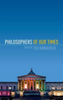 Philosophers of Our Times (BOK)
