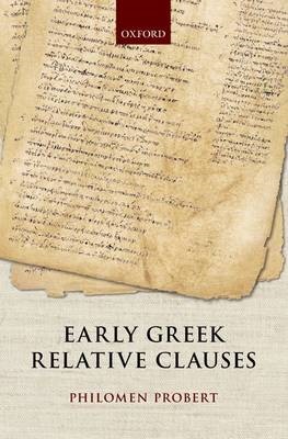 Early Greek Relative Clauses (BOK)