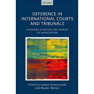 Deference in International Courts and Tribunals (BOK)