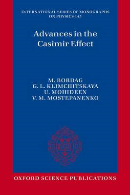 Advances in the Casimir Effect (BOK)