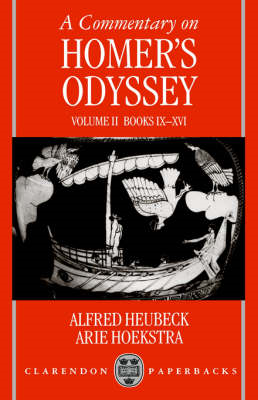 Commentary on Homer's Odyssey: Volume II: Books IX-XVI (BOK)