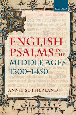 English Psalms in the Middle Ages, 1300-1450 (BOK)
