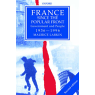 France Since the Popular Front: Government and People 1936-1996 (BOK)