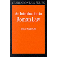An Introduction to Roman Law (BOK)
