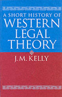 A Short History of Western Legal Theory (BOK)