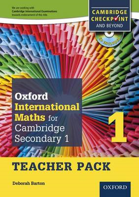 Oxford International Maths for Cambridge Secondary 1 Teacher Pack 1: For Cambridge Checkpoint and Be (BOK)