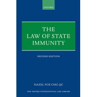 The Law of State Immunity (BOK)