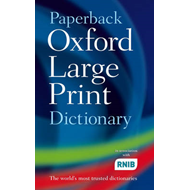 Paperback Oxford Large Print Dictionary (BOK)