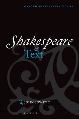 Shakespeare and Text (BOK)