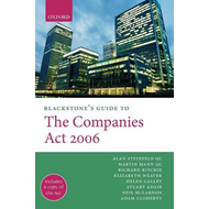Blackstone's Guide to the Companies Act: 2006 (BOK)