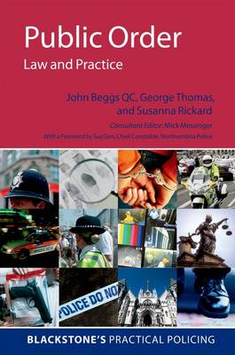 Public Order: Law and Practice (BOK)