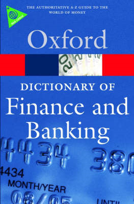 A Dictionary of Finance and Banking (BOK)