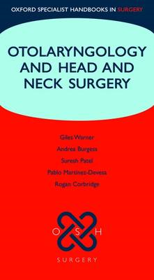 Otolaryngology and Head and Neck Surgery (BOK)