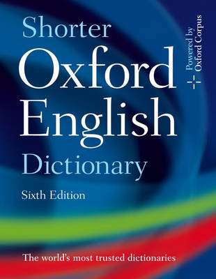 Shorter Oxford English Dictionary (BOK)