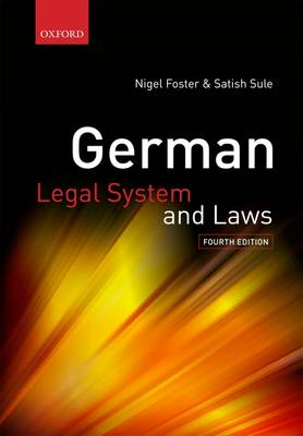 German Legal System and Laws (BOK)