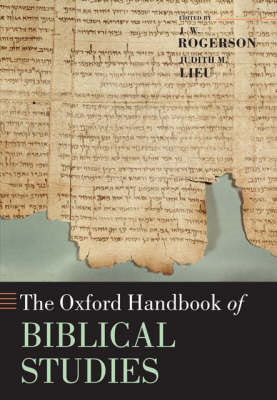 The Oxford Handbook of Biblical Studies (BOK)
