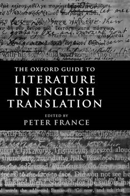 The Oxford Guide to Literature in English Translation (BOK)