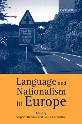 Language and Nationalism in Europe (BOK)