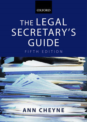 The Legal Secretary's Guide (BOK)