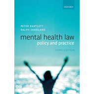 Mental Health Law: Policy and Practice (BOK)