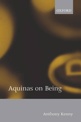 Aquinas on Being (BOK)