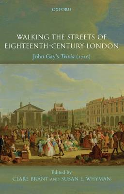 Walking the Streets of Eighteenth-Century London (BOK)