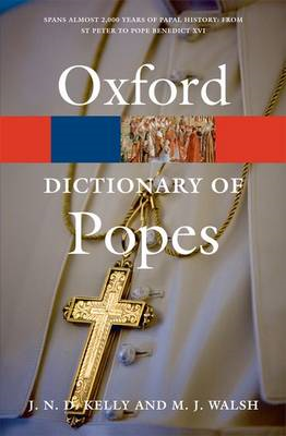 A Dictionary of Popes (BOK)