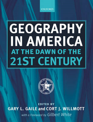 Geography in America at the Dawn of the 21st Century (BOK)