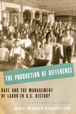 Production of Difference (BOK)