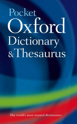 Pocket Oxford Dictionary and Thesaurus (BOK)
