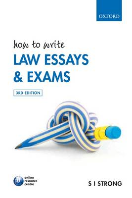 How to Write Law Essays and Exams (BOK)