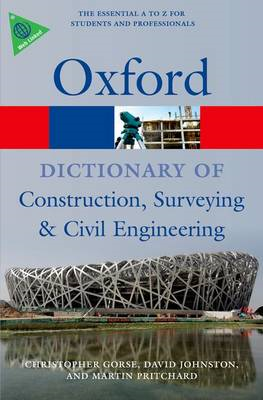 Dictionary of Construction, Surveying, and Civil Engineering (BOK)