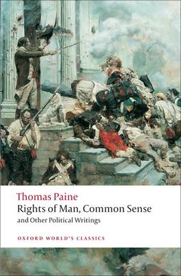 Rights of Man, Common Sense, and Other Political Writings (BOK)