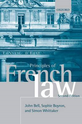 Principles of French Law (BOK)