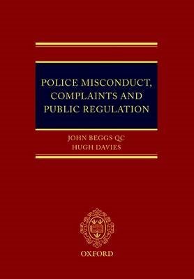 Police Misconduct, Complaints, and Public Regulation (BOK)