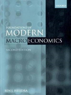 Foundations of Modern Macroeconomics Text and Manual Set (BOK)