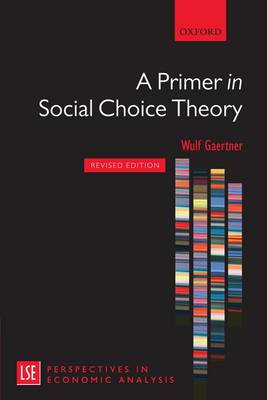 Primer in Social Choice Theory (BOK)