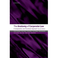 The Anatomy of Corporate Law: A Comparative and Functional Approach (BOK)