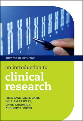 An Introduction to Clinical Research (BOK)