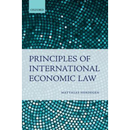 Principles of International Economic Law (BOK)