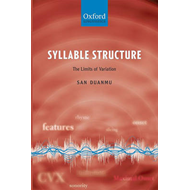 Syllable Structure: The Limits of Variation (BOK)