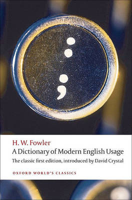 Dictionary of Modern English Usage (BOK)