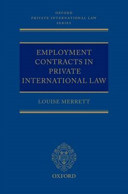 Employment Contracts in Private International Law (BOK)